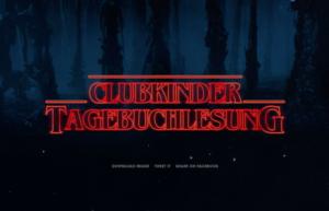 27. clubkinder Tagebuchlesung @ Gruenspan | Hamburg | Germany